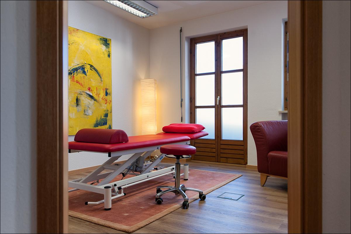 Physiopraxis Sonthofen Behandlungsraum 2